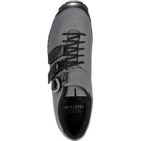 Giro Code Techlace kengät Miehet, dark shadow/black